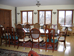 Sanctuary dining room